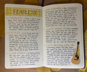 My bullet journal: Fearless (Taylor's version)