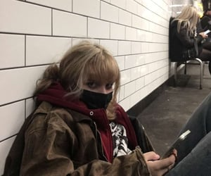 aesthetic, blonde, and grunge image