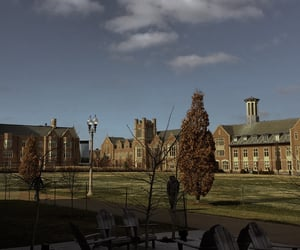 academia, architecture, and boarding school image