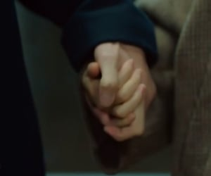 couple, hands, and kdrama image