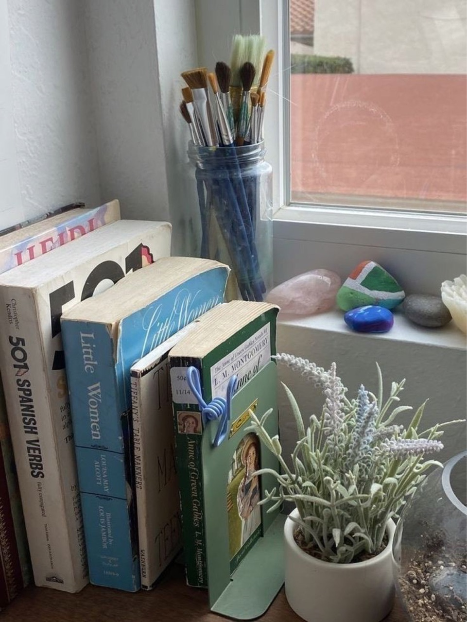 book, inspiration, and plants image