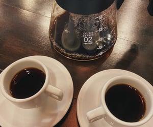 black coffee, coffee, and coffee aesthetics image