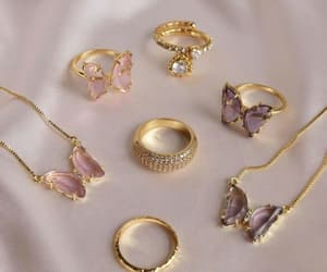 accessories, gold, and jewelry image