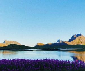 europe, lofoten islands, and mountains image