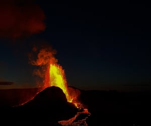 blog, photography, and volcanic eruption image