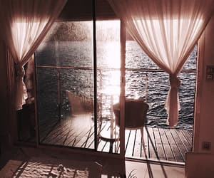 sea, view, and aesthetic image