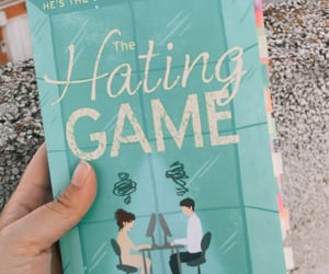 book, paperback, and the hating game image