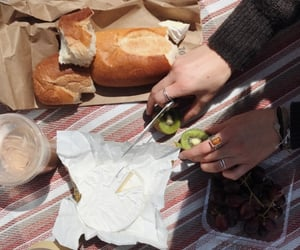 bread, brunch, and picnic image