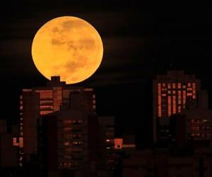 moon, são paulo, and brazil image