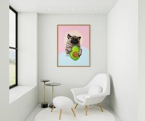 art prints, avocado, and art lover image