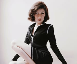 50's, girl, and vintage image