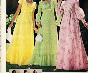 1970s, 70s, and dress image