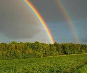arcoiris, belleza, and campo image