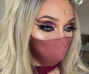 arabic, fierce, and makeup image
