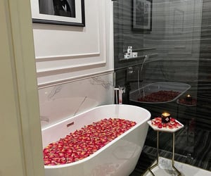 bath, luxury, and selfcare image