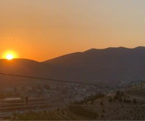 sunset, kurdistan, and sule image