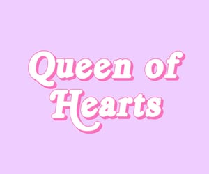 aesthetic, queen of hearts, and cute image