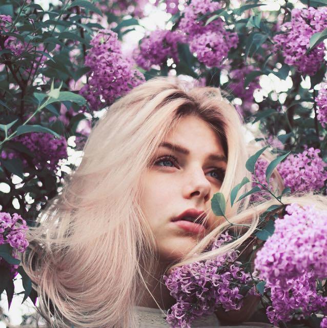 aesthetic, lilac, and princess image