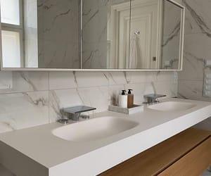 amazing, bathroom, and beige image