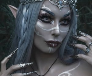 beautiful, color, and elf image