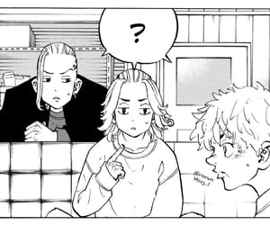 manga, mikey, and tokyo revengers image