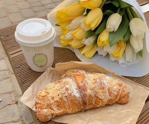 breakfast, brunch, and croissant image