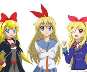 anime, yellow hair, and hoshimiya ichigo image