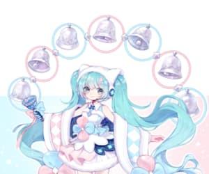 anime, hatsune miku, and kawaii anime girl image