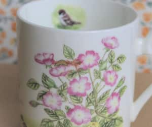 floral, pink, and pretty image
