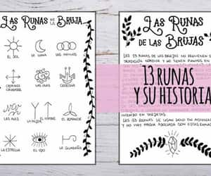 printable, witchy, and runes image