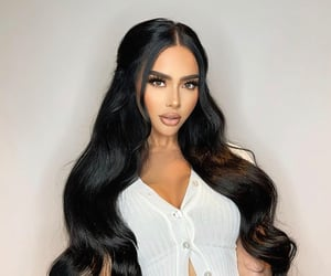 beauty, hair, and ig image