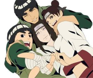 naruto, neji hyuga, and team guy image