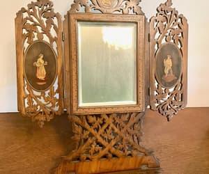 antique mirror, akitschisjustakitsch, and italian souvenir image