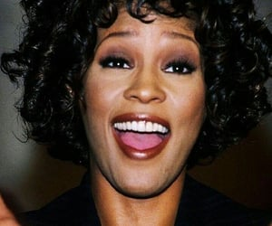celebrities, rip, and whitneyhouston image