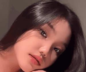 blink, gif, and cute ullzang eyes image