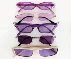 purple, sunglasses, and fashion image