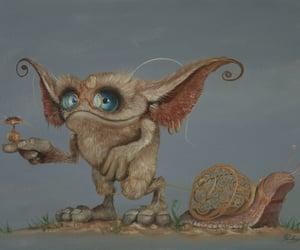 creature, fairy tale, and troll image