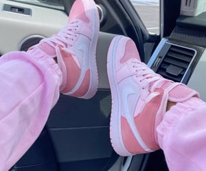pink, shoes, and girl image
