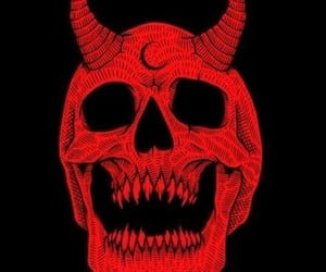 aesthetic, Devil, and evil image