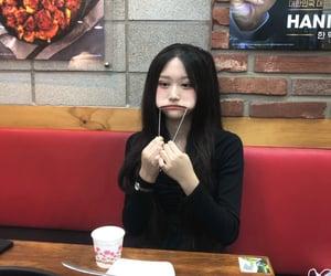 cute girl, korean girl, and profile image