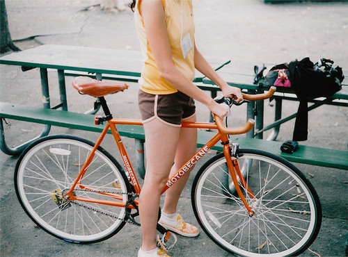 bike, fitness, and green image