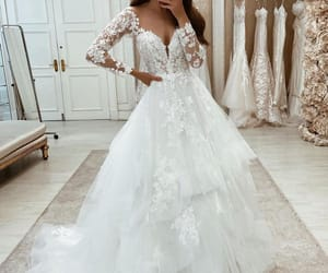 beautiful, dress, and sparkling image