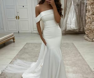 beautiful, fashion, and gown image