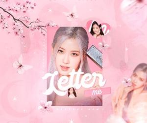 rose, blackpink, and kpop edit image