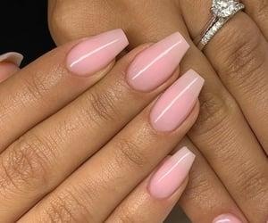 fashion, nails, and ring image