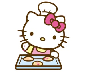 baking, hello kitty, and icon image