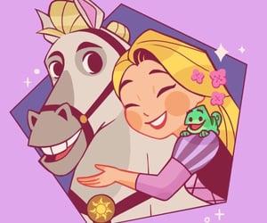 disney, disney princesses, and rapunzel image