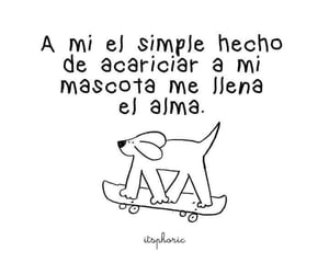 frases, mascotas, and perros image