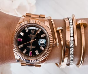 cartier, fashion, and watch image