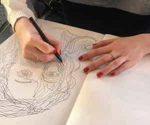art, art gallery, and creativity image